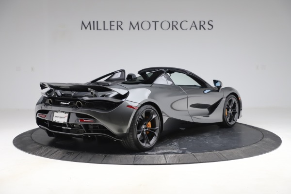 New 2020 McLaren 720S Spider Convertible for sale $332,570 at Maserati of Greenwich in Greenwich CT 06830 5