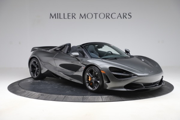 New 2020 McLaren 720S Spider Convertible for sale $332,570 at Maserati of Greenwich in Greenwich CT 06830 7