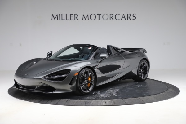 New 2020 McLaren 720S Spider Convertible for sale $332,570 at Maserati of Greenwich in Greenwich CT 06830 1