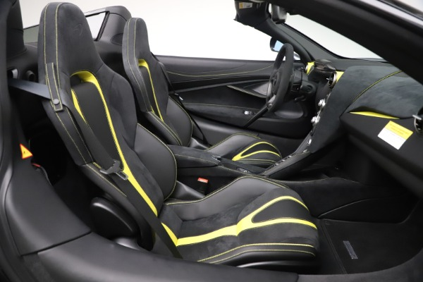 Used 2020 McLaren 720S Spider Convertible for sale Sold at Maserati of Greenwich in Greenwich CT 06830 25
