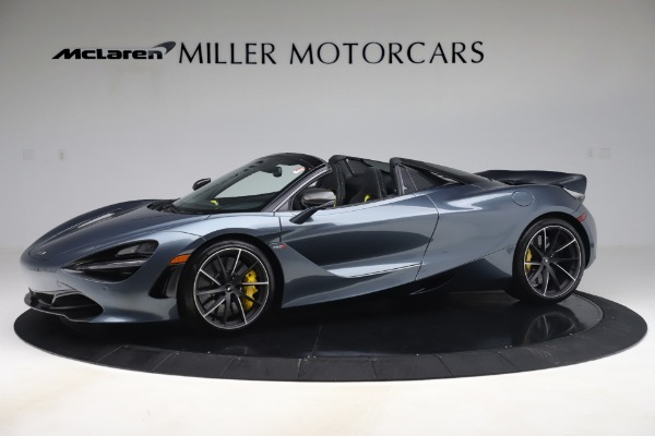 Used 2020 McLaren 720S Spider Convertible for sale Sold at Maserati of Greenwich in Greenwich CT 06830 1