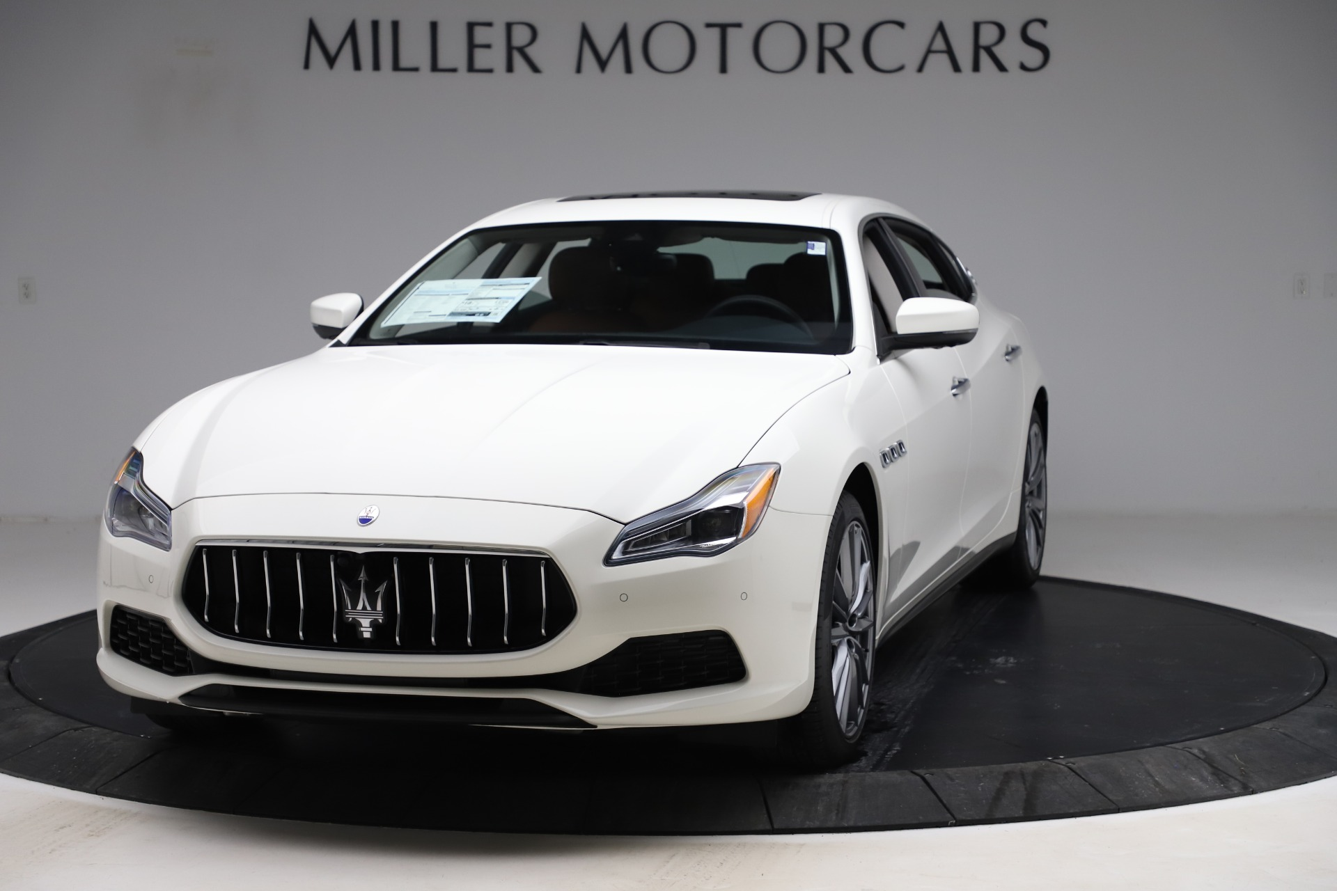 New 2019 Maserati Quattroporte S Q4 for sale $121,065 at Maserati of Greenwich in Greenwich CT 06830 1