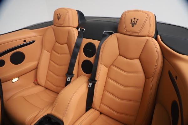New 2019 Maserati GranTurismo Sport Convertible for sale Sold at Maserati of Greenwich in Greenwich CT 06830 24