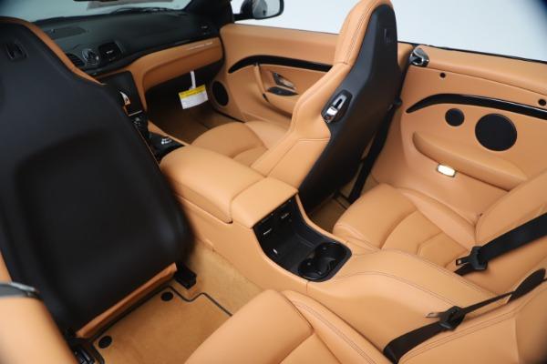 New 2019 Maserati GranTurismo Sport Convertible for sale Sold at Maserati of Greenwich in Greenwich CT 06830 25