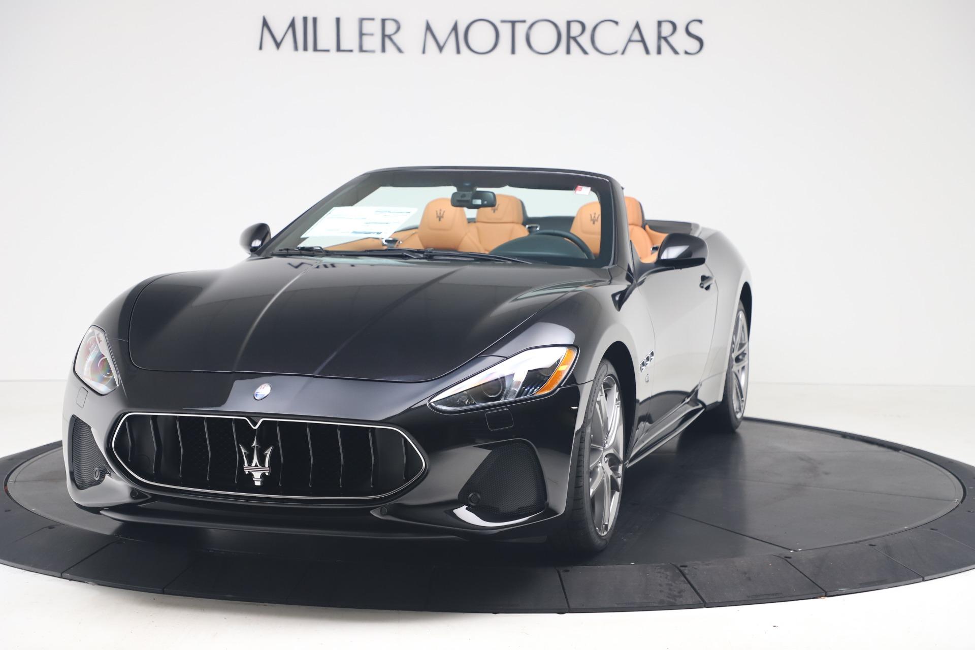 New 2019 Maserati GranTurismo Sport Convertible for sale Sold at Maserati of Greenwich in Greenwich CT 06830 1