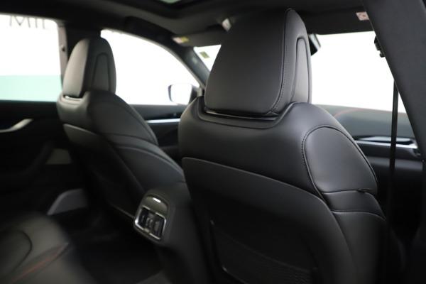 New 2019 Maserati Levante Q4 GranSport for sale Call for price at Maserati of Greenwich in Greenwich CT 06830 28