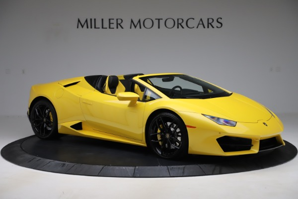 Used 2018 Lamborghini Huracan LP 580-2 Spyder for sale $203,900 at Maserati of Greenwich in Greenwich CT 06830 10
