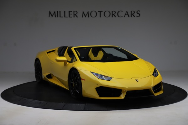 Used 2018 Lamborghini Huracan LP 580-2 Spyder for sale $203,900 at Maserati of Greenwich in Greenwich CT 06830 11