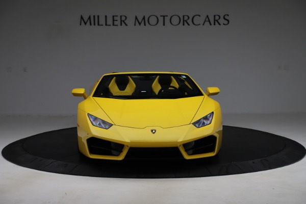 Used 2018 Lamborghini Huracan LP 580-2 Spyder for sale $203,900 at Maserati of Greenwich in Greenwich CT 06830 12