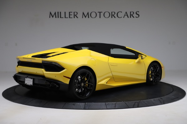 Used 2018 Lamborghini Huracan LP 580-2 Spyder for sale $203,900 at Maserati of Greenwich in Greenwich CT 06830 15
