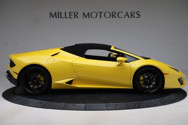 Used 2018 Lamborghini Huracan LP 580-2 Spyder for sale $203,900 at Maserati of Greenwich in Greenwich CT 06830 16