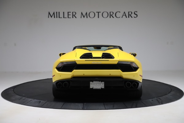 Used 2018 Lamborghini Huracan LP 580-2 Spyder for sale $203,900 at Maserati of Greenwich in Greenwich CT 06830 6