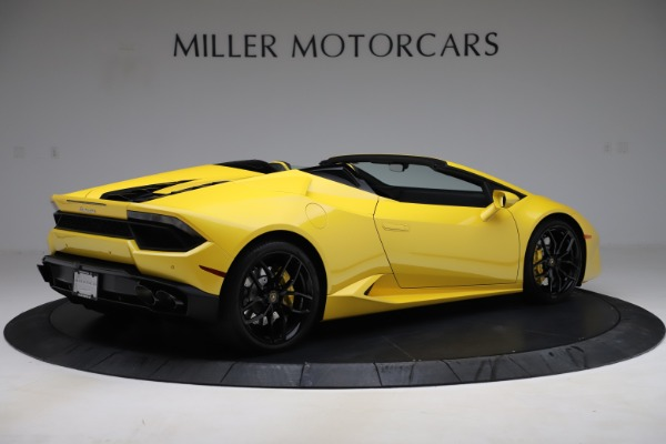 Used 2018 Lamborghini Huracan LP 580-2 Spyder for sale $203,900 at Maserati of Greenwich in Greenwich CT 06830 8