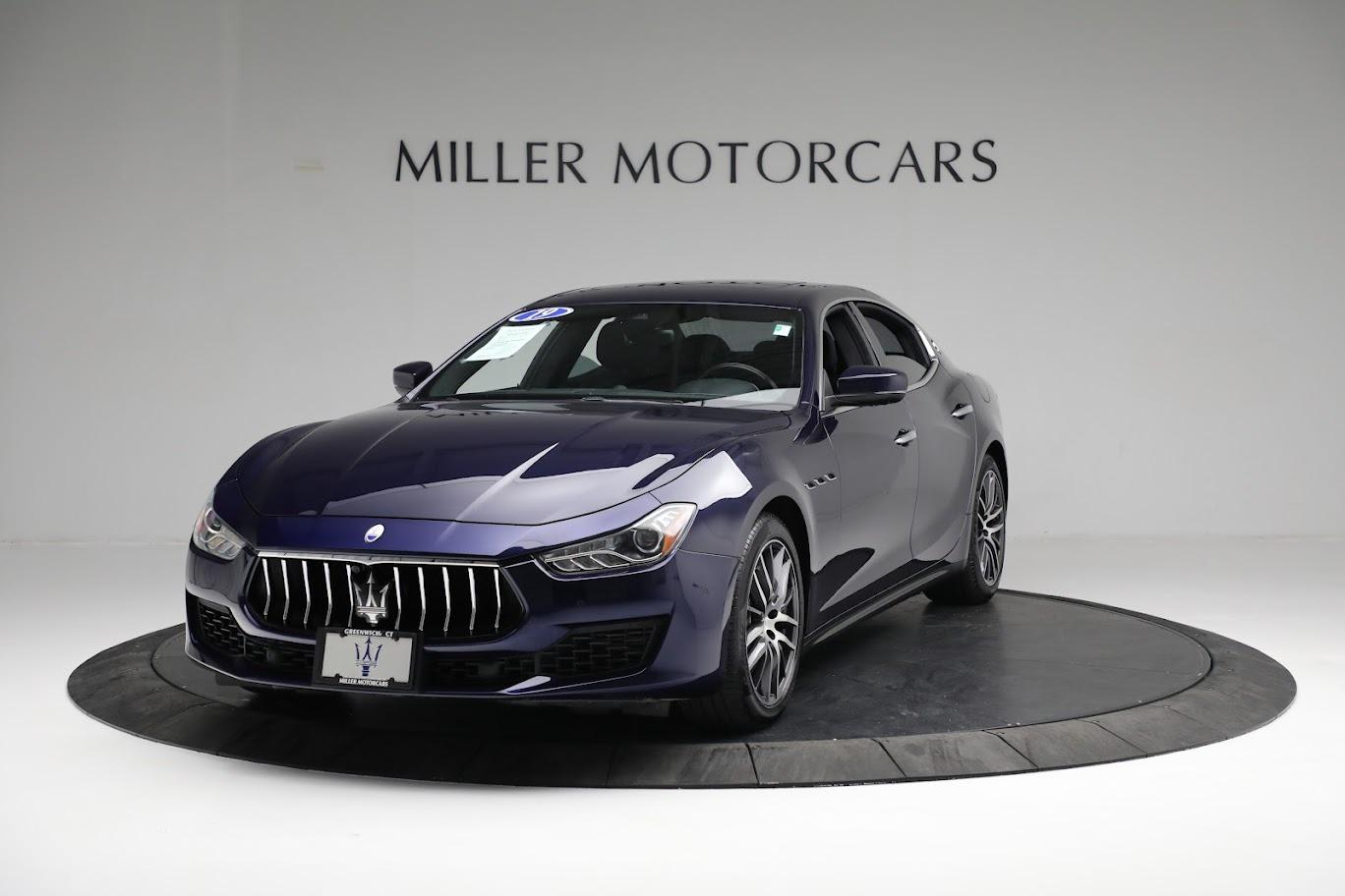 New 2019 Maserati Ghibli S Q4 for sale $90,765 at Maserati of Greenwich in Greenwich CT 06830 1