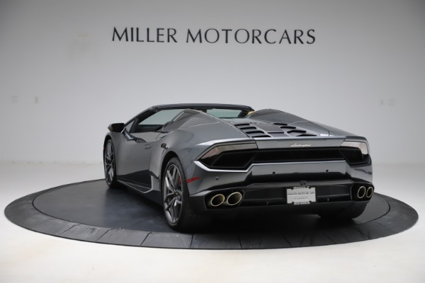 Used 2018 Lamborghini Huracan LP 580-2 Spyder for sale $203,900 at Maserati of Greenwich in Greenwich CT 06830 5