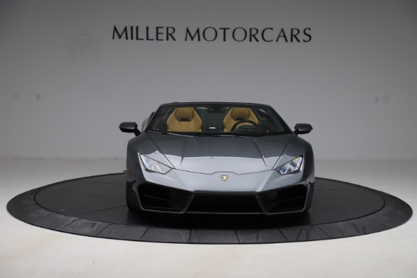 Used 2018 Lamborghini Huracan LP 580-2 Spyder for sale $203,900 at Maserati of Greenwich in Greenwich CT 06830 7