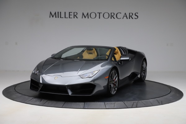 Used 2018 Lamborghini Huracan LP 580-2 Spyder for sale $203,900 at Maserati of Greenwich in Greenwich CT 06830 1
