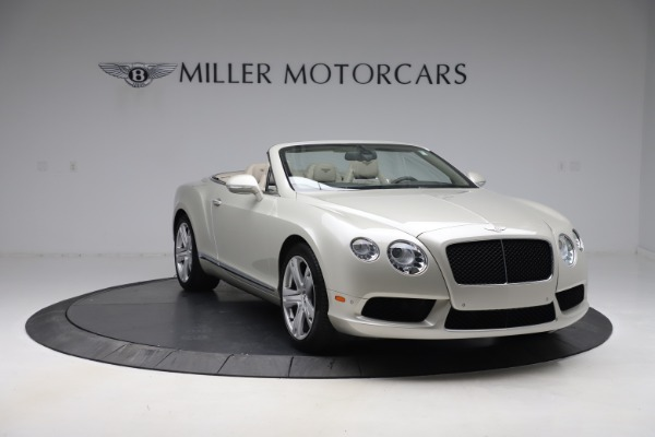 Used 2015 Bentley Continental GTC V8 for sale $114,900 at Maserati of Greenwich in Greenwich CT 06830 12
