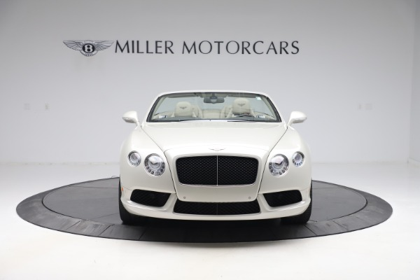 Used 2015 Bentley Continental GTC V8 for sale $114,900 at Maserati of Greenwich in Greenwich CT 06830 13