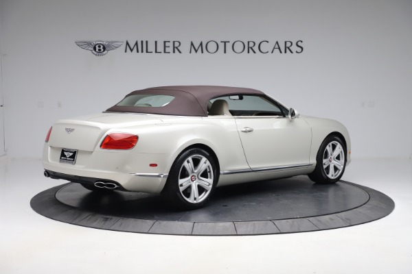 Used 2015 Bentley Continental GTC V8 for sale $114,900 at Maserati of Greenwich in Greenwich CT 06830 17