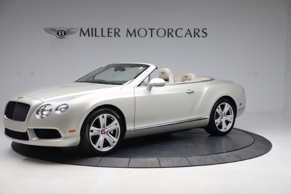Used 2015 Bentley Continental GTC V8 for sale $114,900 at Maserati of Greenwich in Greenwich CT 06830 2