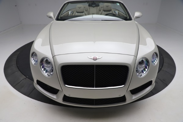 Used 2015 Bentley Continental GTC V8 for sale $114,900 at Maserati of Greenwich in Greenwich CT 06830 20