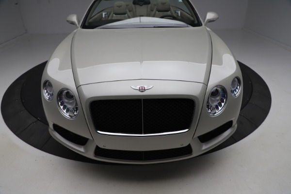 Used 2015 Bentley Continental GTC V8 for sale $114,900 at Maserati of Greenwich in Greenwich CT 06830 21