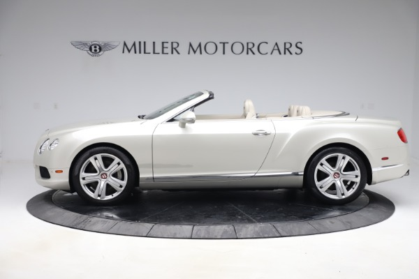 Used 2015 Bentley Continental GTC V8 for sale $114,900 at Maserati of Greenwich in Greenwich CT 06830 3