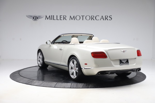 Used 2015 Bentley Continental GTC V8 for sale $114,900 at Maserati of Greenwich in Greenwich CT 06830 4