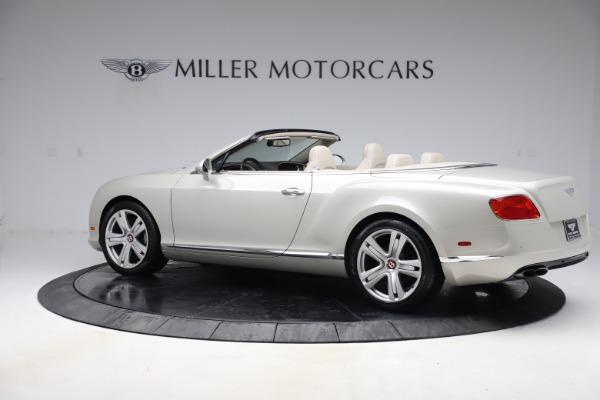Used 2015 Bentley Continental GTC V8 for sale $114,900 at Maserati of Greenwich in Greenwich CT 06830 5