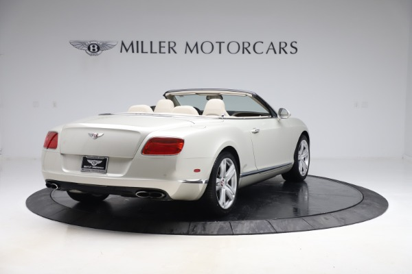 Used 2015 Bentley Continental GTC V8 for sale $114,900 at Maserati of Greenwich in Greenwich CT 06830 7