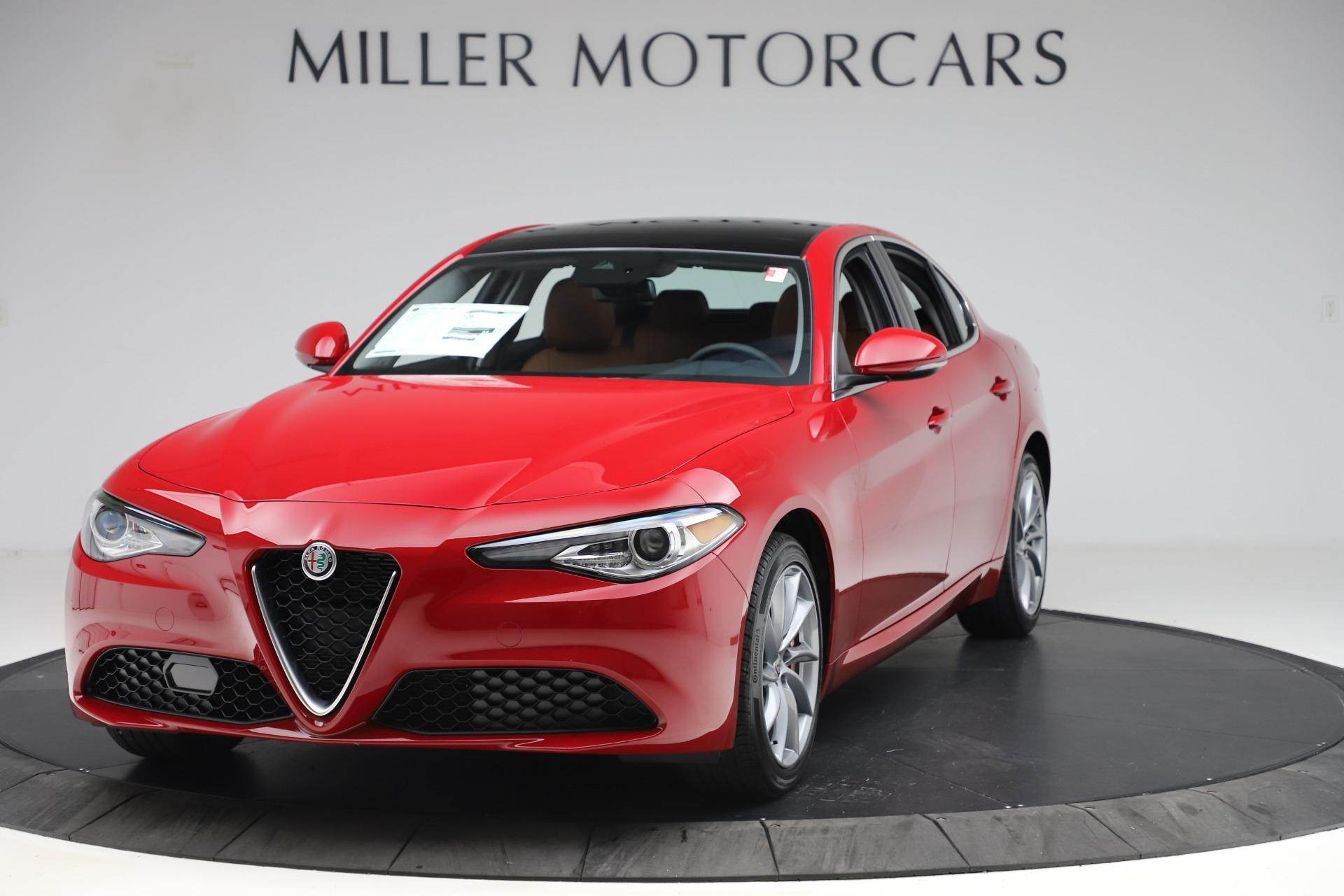 New 2020 Alfa Romeo Giulia Q4 for sale $45,740 at Maserati of Greenwich in Greenwich CT 06830 1