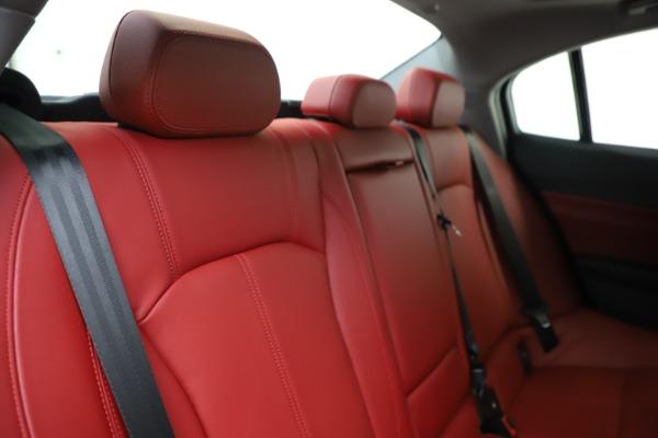 New 2020 Alfa Romeo Giulia Q4 for sale $45,740 at Maserati of Greenwich in Greenwich CT 06830 26