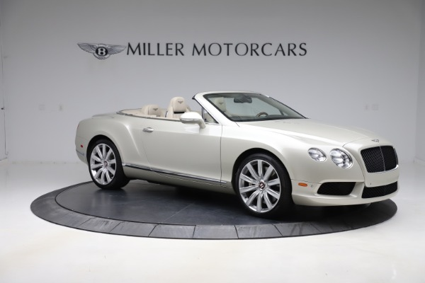 Used 2015 Bentley Continental GTC V8 for sale $109,900 at Maserati of Greenwich in Greenwich CT 06830 10