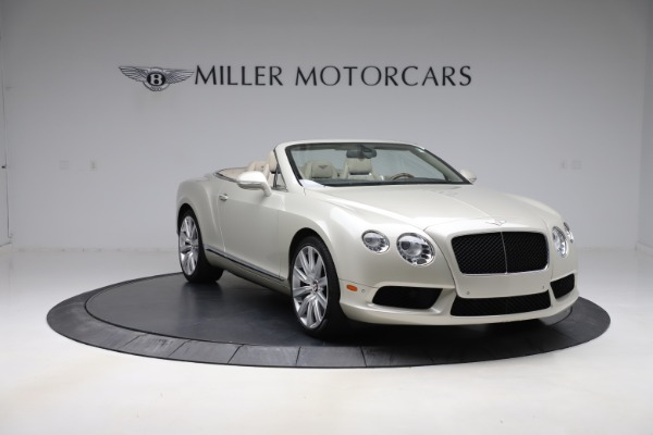 Used 2015 Bentley Continental GTC V8 for sale $109,900 at Maserati of Greenwich in Greenwich CT 06830 11