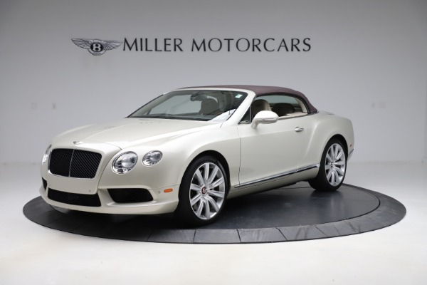 Used 2015 Bentley Continental GTC V8 for sale $109,900 at Maserati of Greenwich in Greenwich CT 06830 13