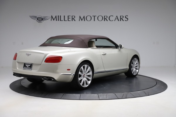 Used 2015 Bentley Continental GTC V8 for sale $109,900 at Maserati of Greenwich in Greenwich CT 06830 16