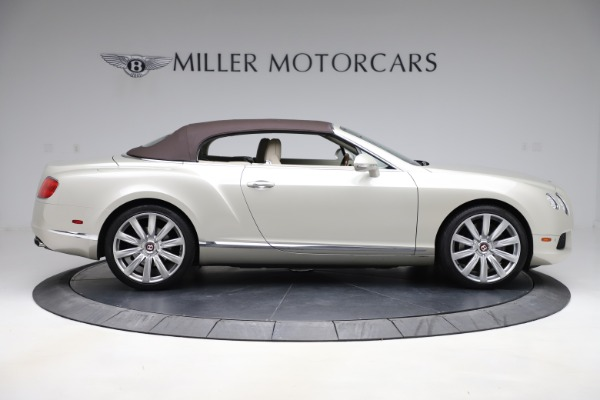 Used 2015 Bentley Continental GTC V8 for sale $109,900 at Maserati of Greenwich in Greenwich CT 06830 17