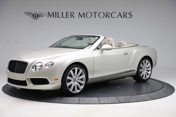 Used 2015 Bentley Continental GTC V8 for sale $109,900 at Maserati of Greenwich in Greenwich CT 06830 2
