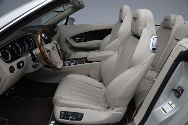 Used 2015 Bentley Continental GTC V8 for sale $109,900 at Maserati of Greenwich in Greenwich CT 06830 24