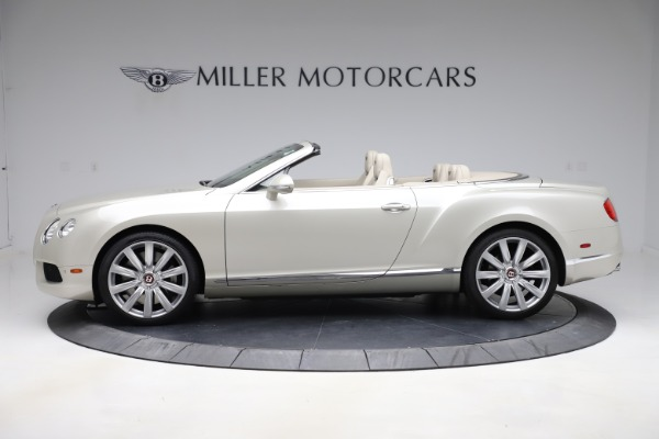 Used 2015 Bentley Continental GTC V8 for sale $109,900 at Maserati of Greenwich in Greenwich CT 06830 3