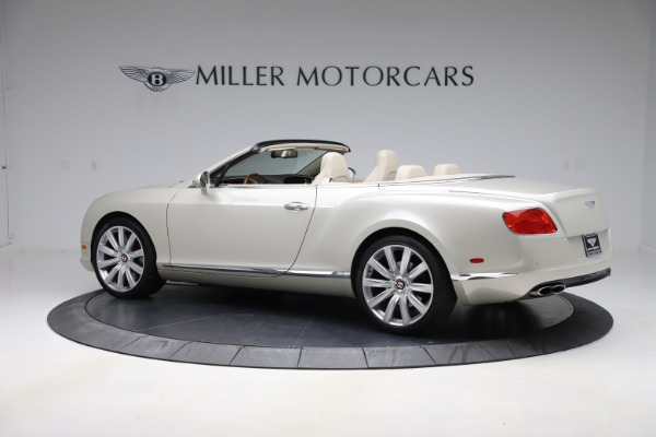 Used 2015 Bentley Continental GTC V8 for sale $109,900 at Maserati of Greenwich in Greenwich CT 06830 4