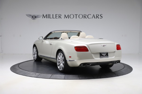 Used 2015 Bentley Continental GTC V8 for sale $109,900 at Maserati of Greenwich in Greenwich CT 06830 5