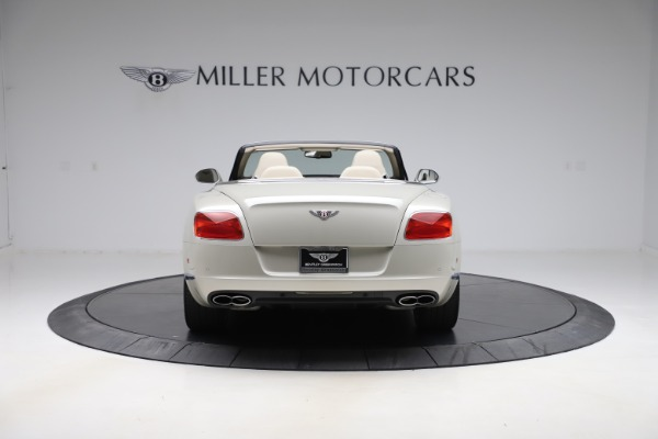 Used 2015 Bentley Continental GTC V8 for sale $109,900 at Maserati of Greenwich in Greenwich CT 06830 6