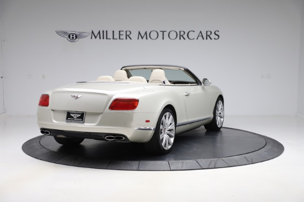 Used 2015 Bentley Continental GTC V8 for sale $109,900 at Maserati of Greenwich in Greenwich CT 06830 7