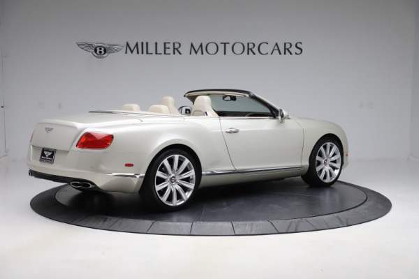 Used 2015 Bentley Continental GTC V8 for sale $109,900 at Maserati of Greenwich in Greenwich CT 06830 8