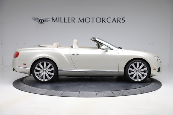 Used 2015 Bentley Continental GTC V8 for sale $109,900 at Maserati of Greenwich in Greenwich CT 06830 9