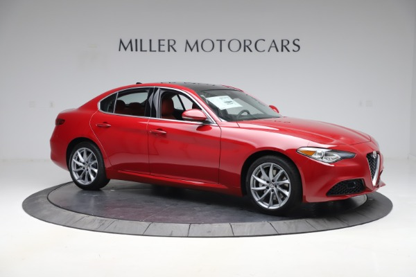 New 2020 Alfa Romeo Giulia Q4 for sale $45,740 at Maserati of Greenwich in Greenwich CT 06830 10