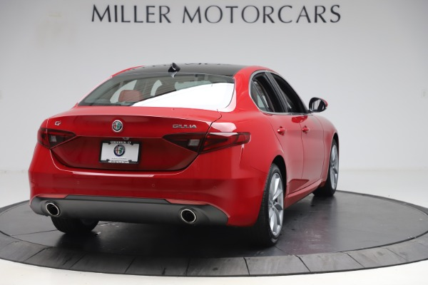 New 2020 Alfa Romeo Giulia Q4 for sale $45,740 at Maserati of Greenwich in Greenwich CT 06830 7