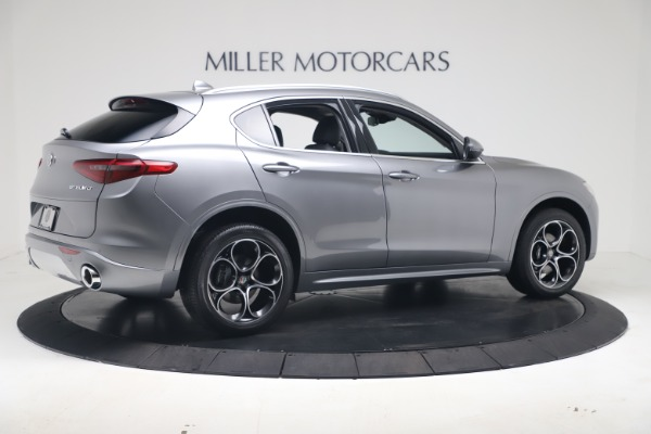 New 2020 Alfa Romeo Stelvio Ti Lusso Q4 for sale $55,790 at Maserati of Greenwich in Greenwich CT 06830 8